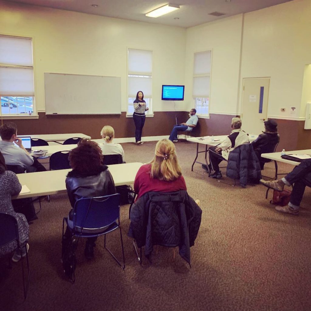 Municipal Training for Candidates at the Fall Creek Township Office in Fishers by the Hamilton County Young Democrats